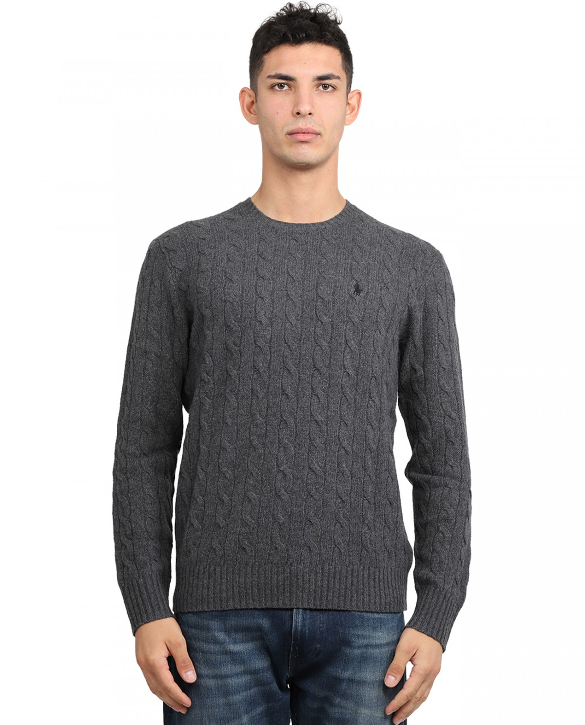 Loro Piana blue sweater