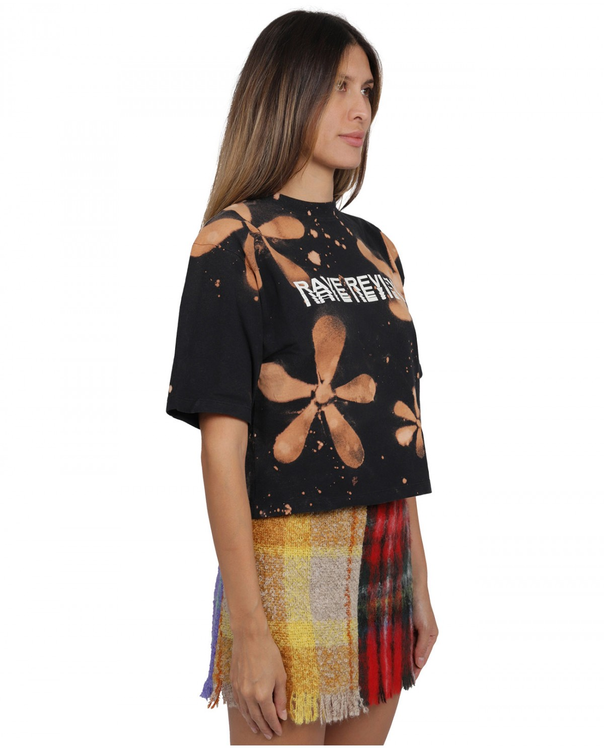 Kenzo mens black Woman with flower sweat-shirt