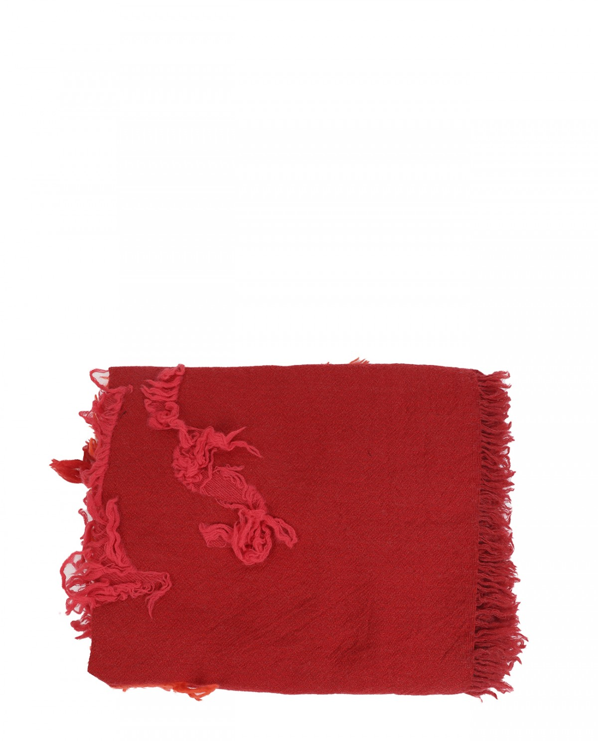 Y's red jacquard stole