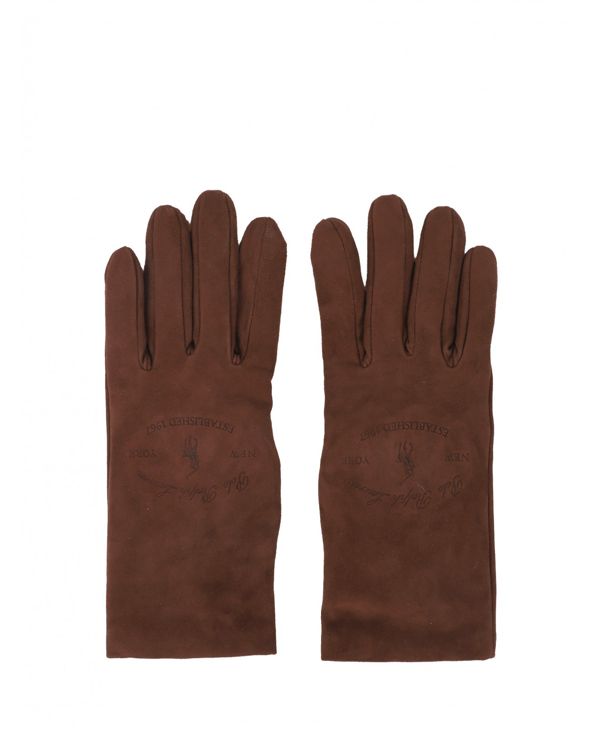 Polo Ralph Lauren brown gloves