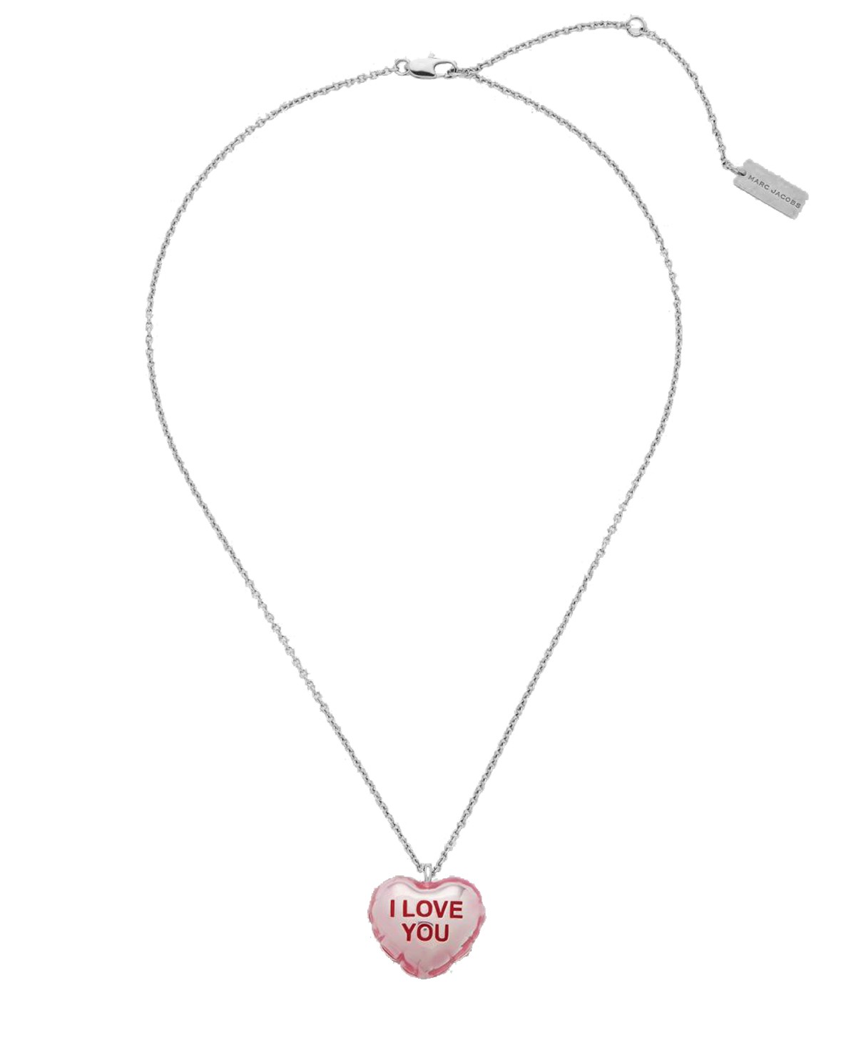 MArc Jacobs pink ILU Balloon necklace