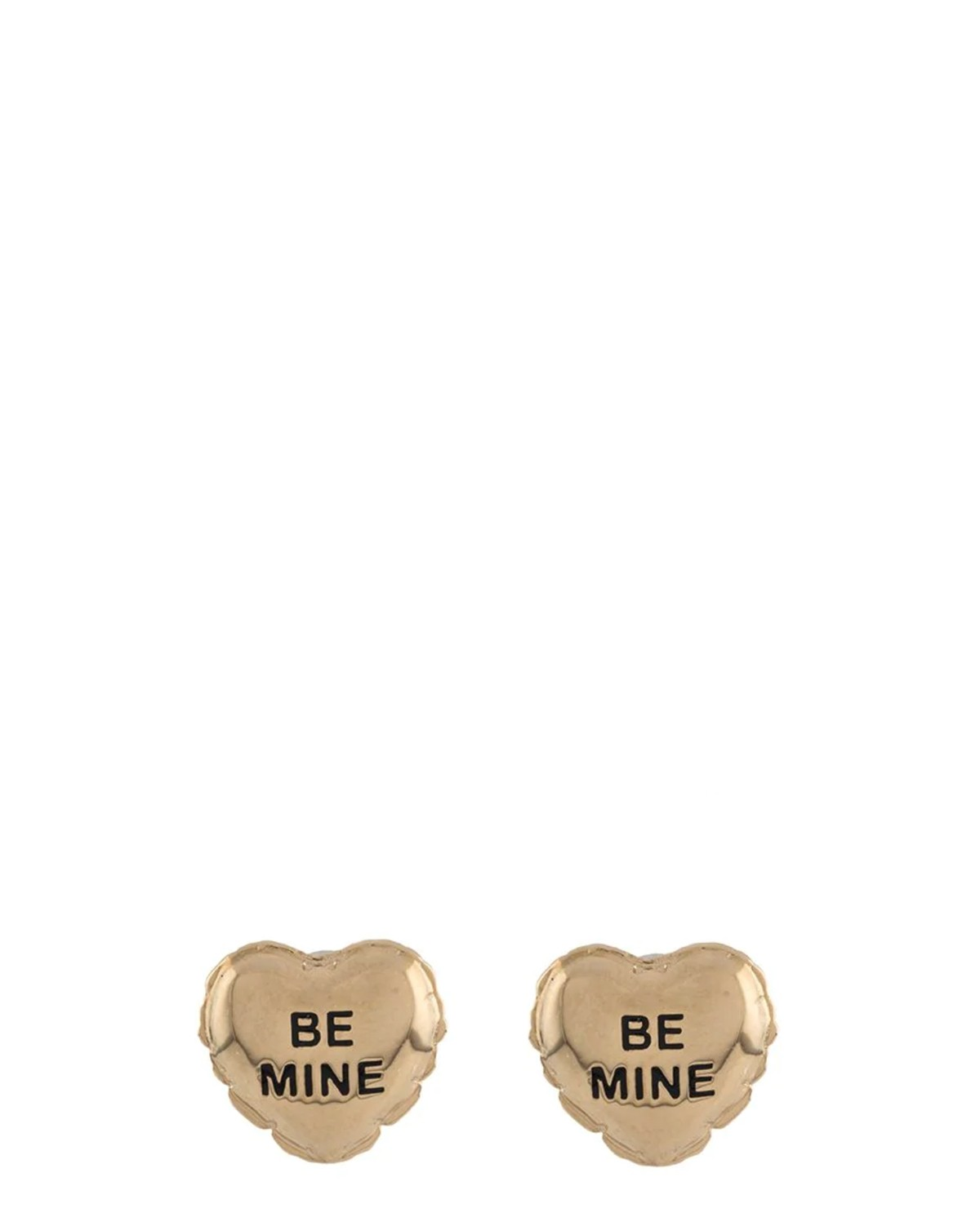 Marc Jacobs gold Be Mine Balloon studs