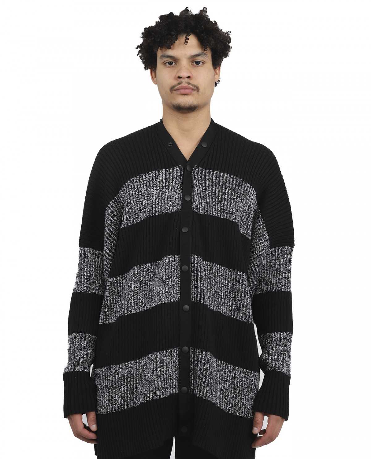 Balenciaga striped cardigan