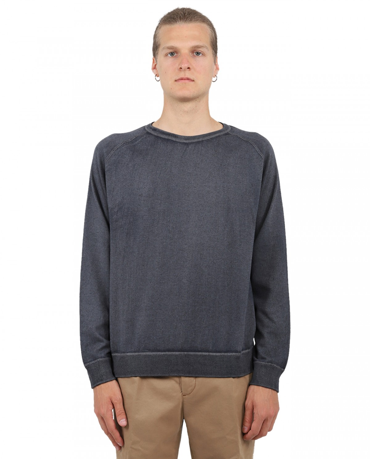 Massimo Alba blue Sport sweater