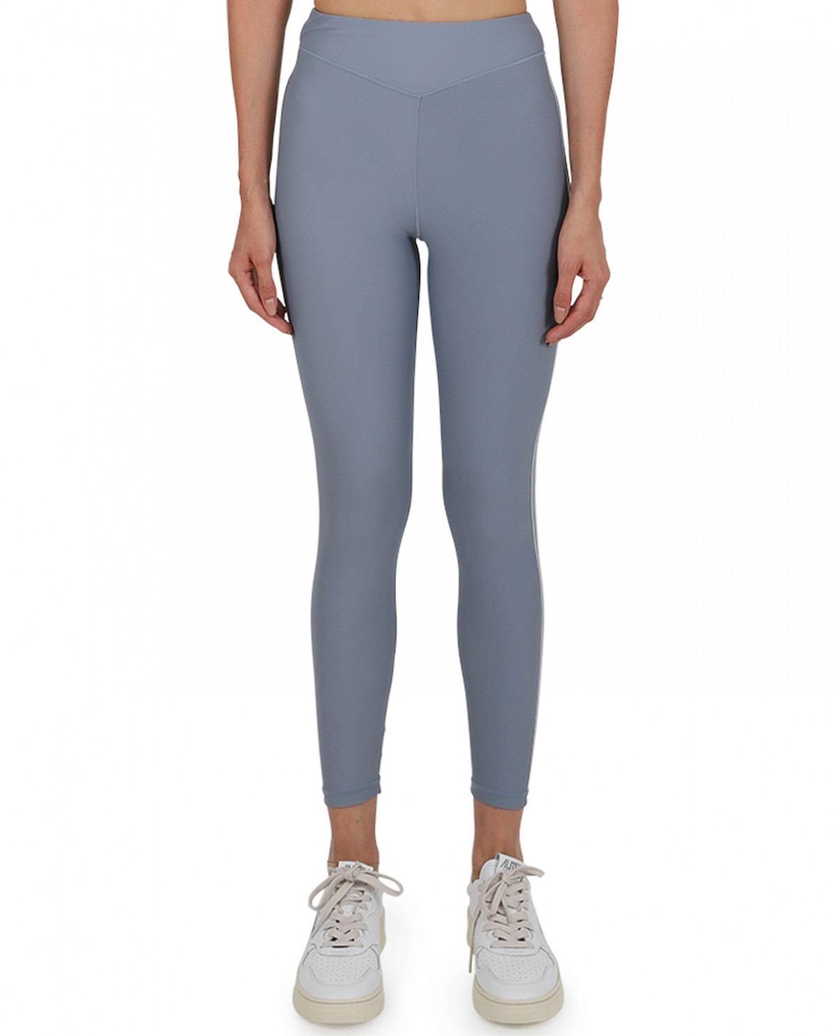 Adam Selman grey Plunge leggings