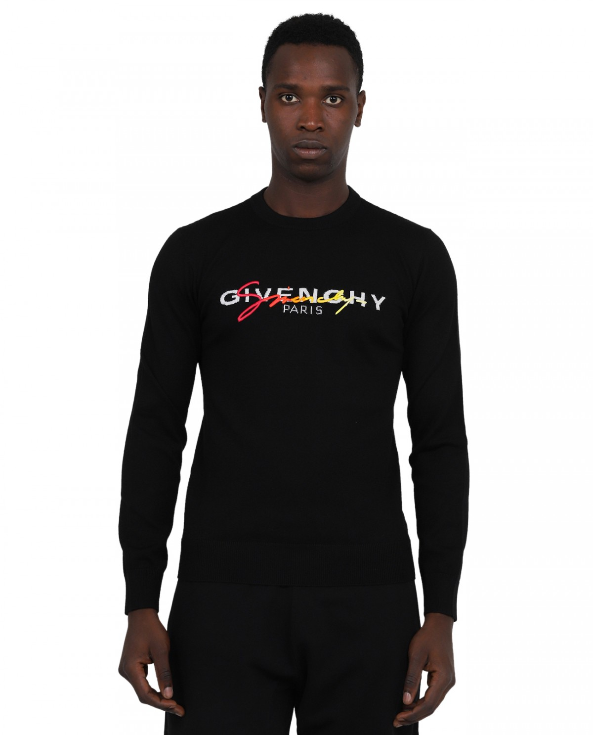 Givenchy black Signature sweater