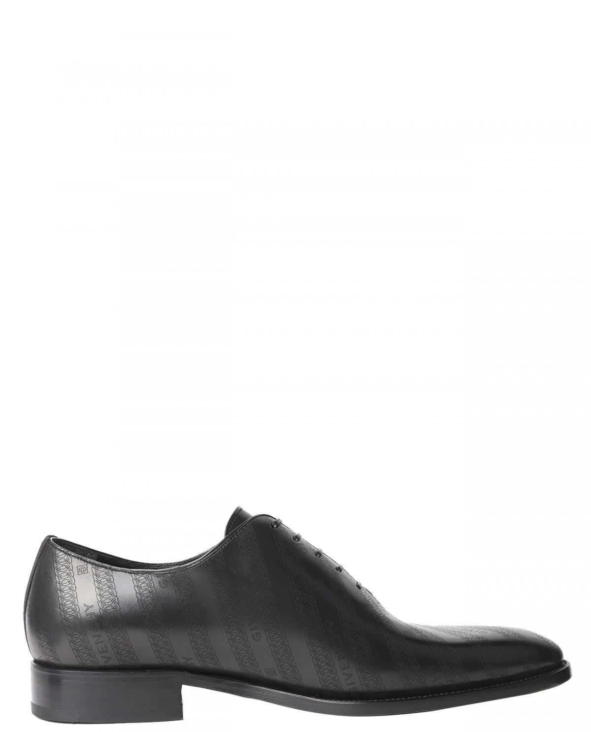 Givenchy chain logo oxford shoes