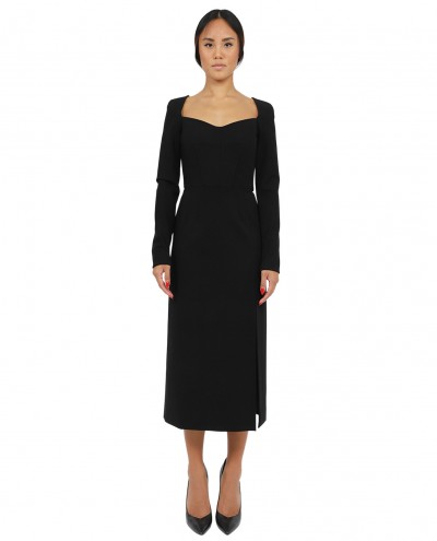 Faith Connexion black silk dress