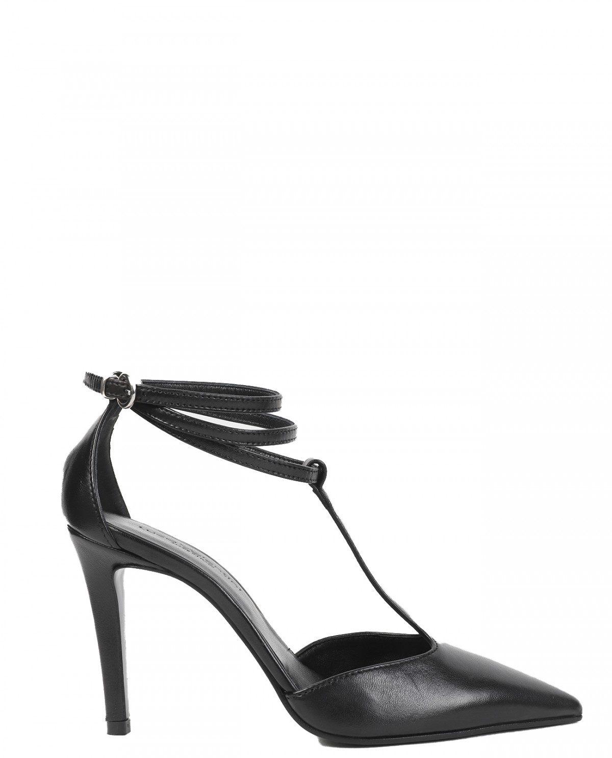 Luca Valentini black pumps
