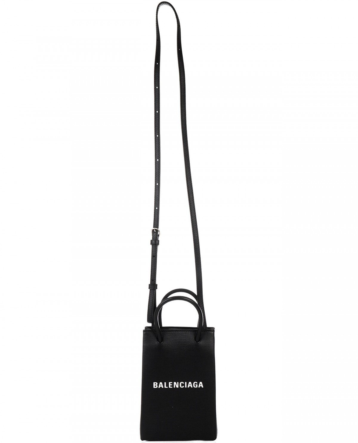 Thom Browne black shoulder bag