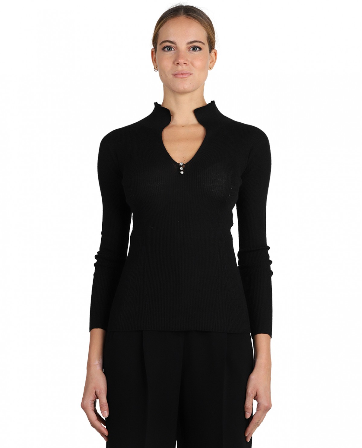 Lanvin black Arpege sweater