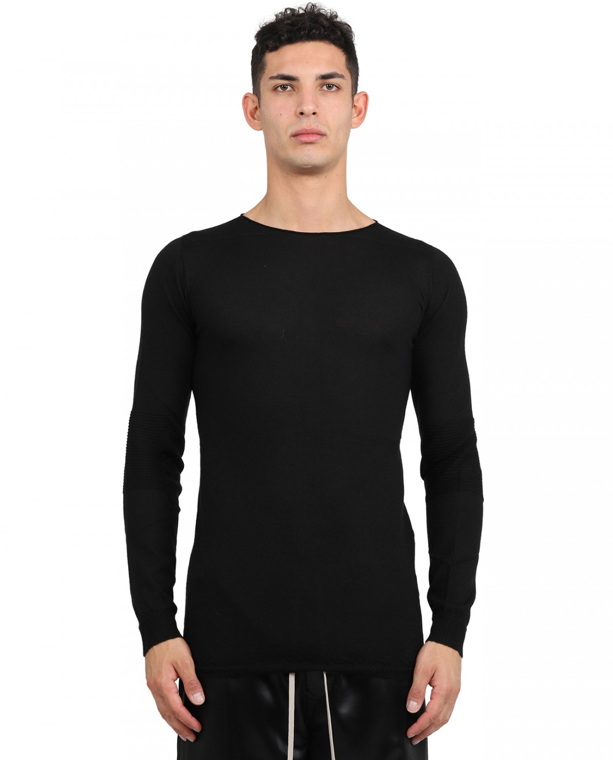 Rick Owens black cashmere sweater