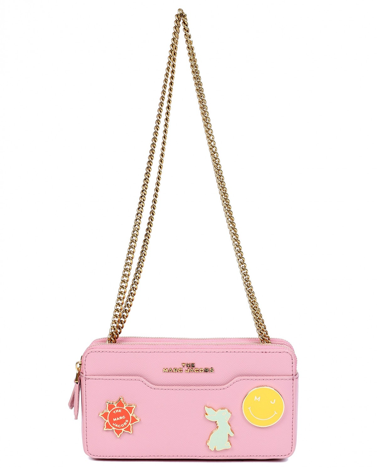Marc Jacobs pink Chain continental...