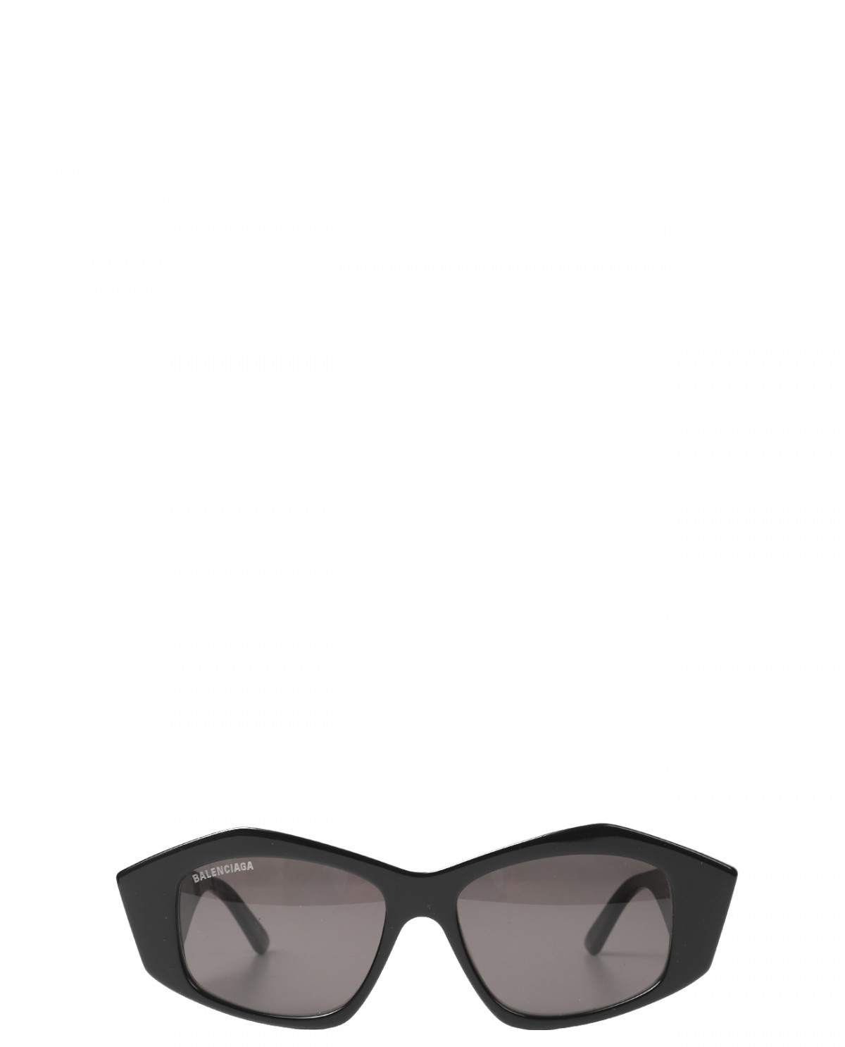 Balenciaga black Cut Square sunglasses