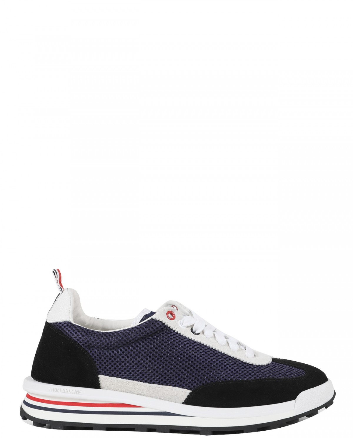 Thom Browne navy tech runners