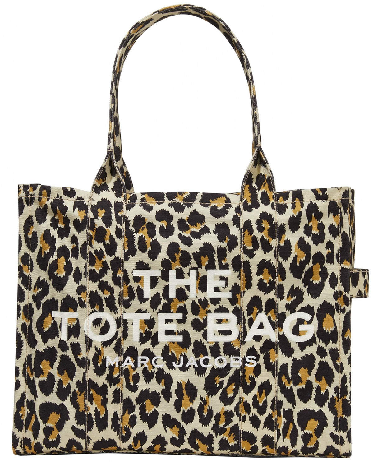 The Marc Jacobs leopard Traveler Tote