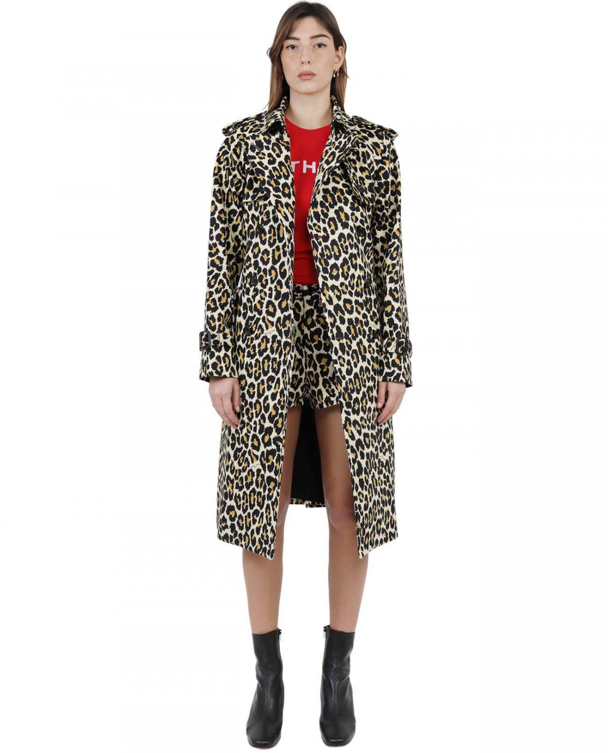 The Marc Jacobs leopard Trench