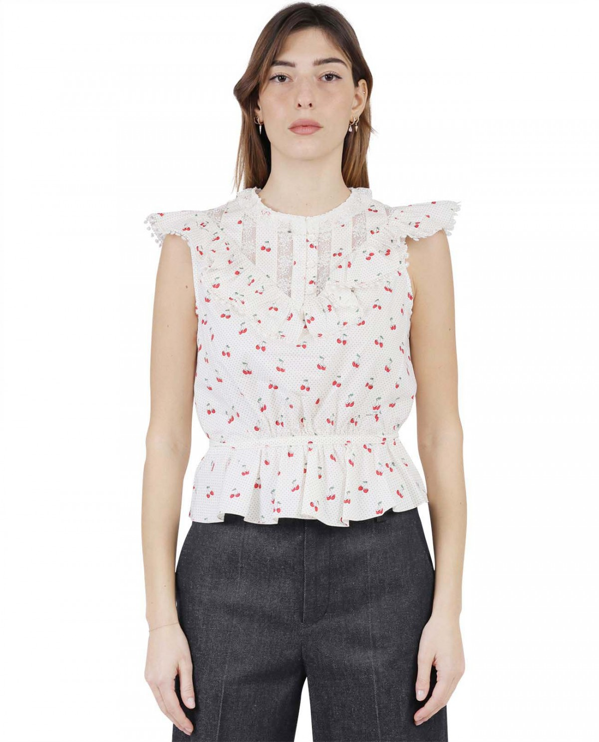 The Marc Jacobs ivory Cherry...
