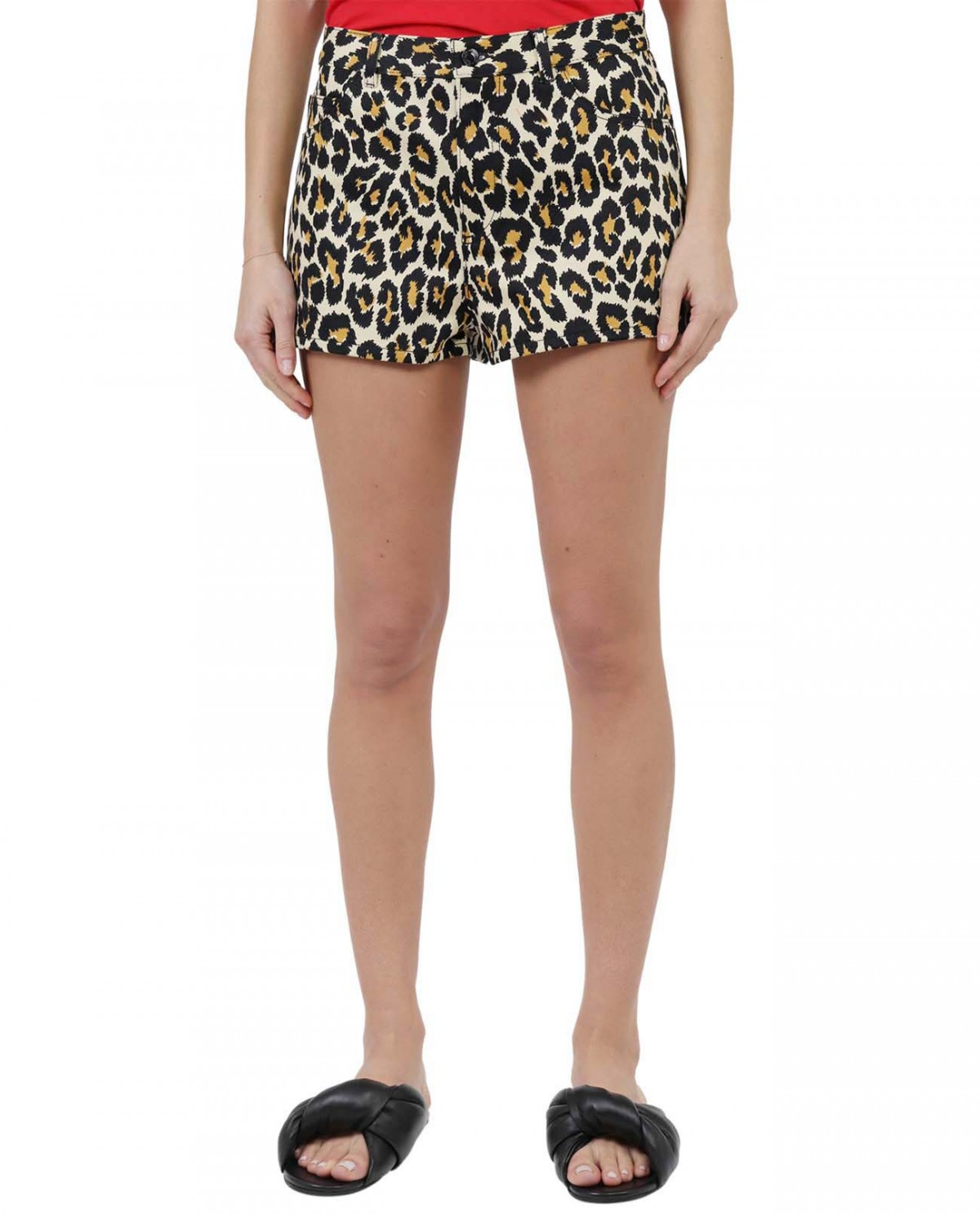 The Marc Jacobs leopard shorts