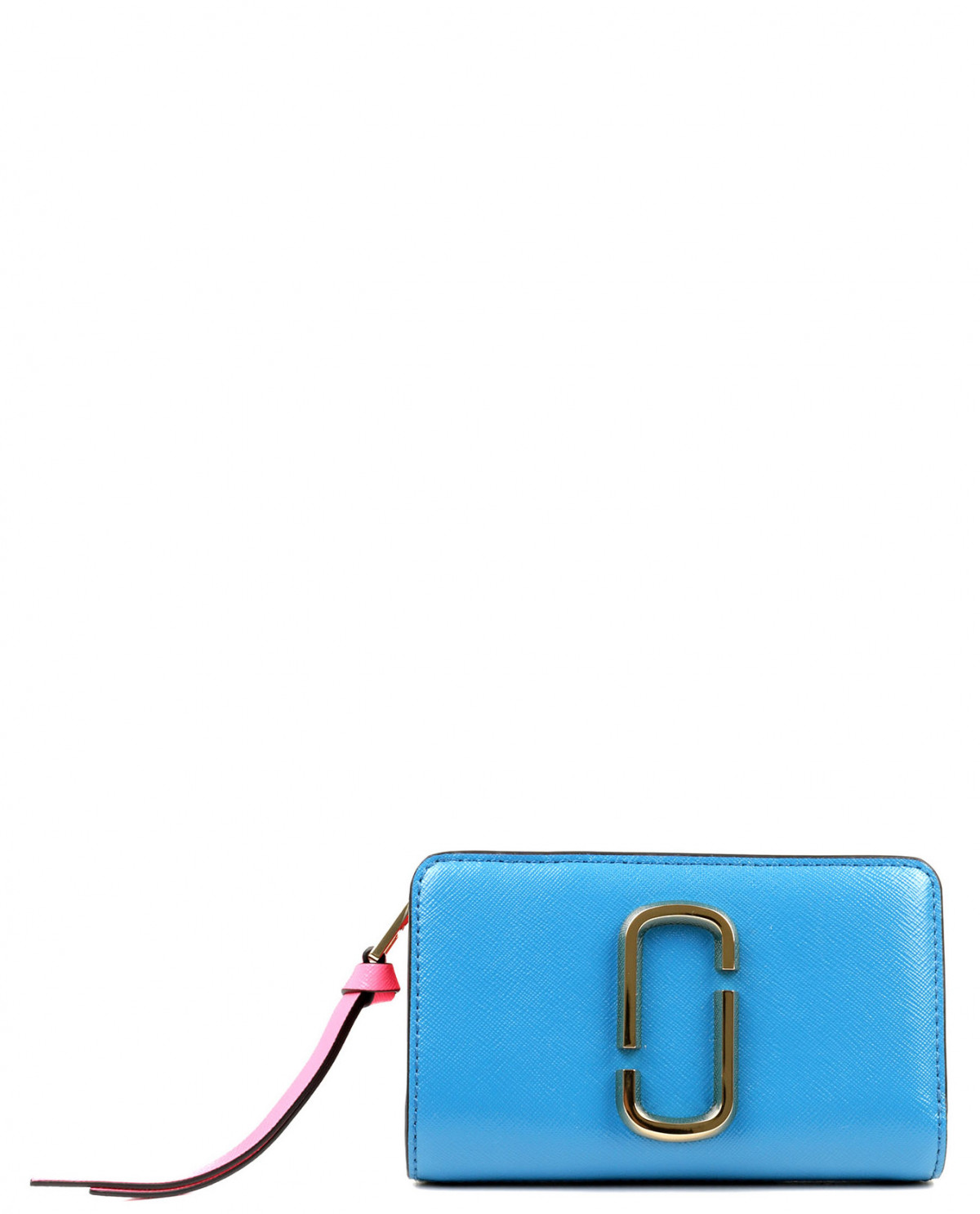 Marc Jacobs blue Snapshot compact wallet