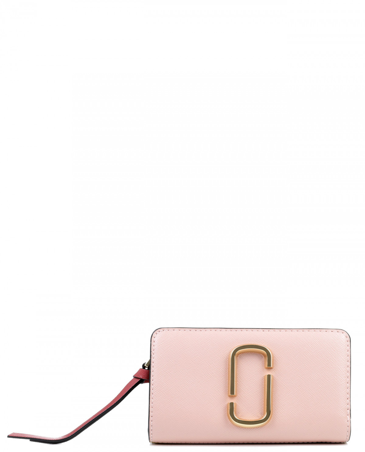 Marc Jacobs pink Snapshot compact wallet