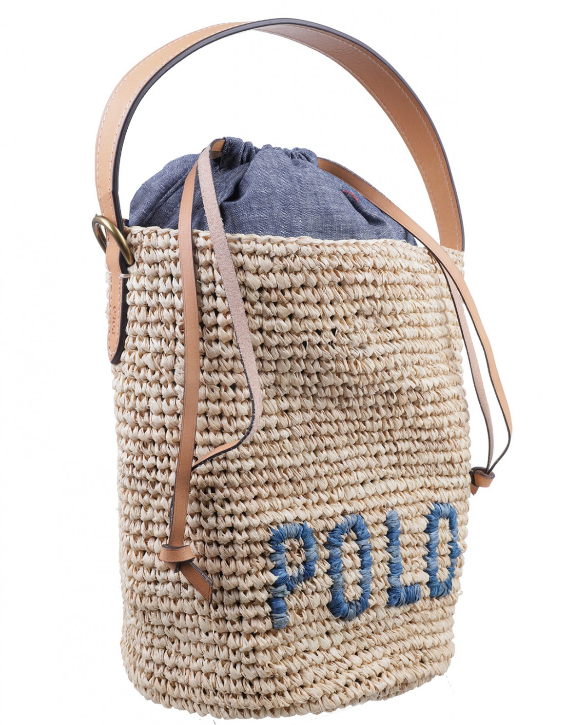 Polo Ralph Lauren beige bag mini