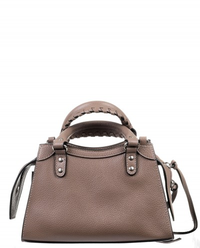 Polo Ralph Lauren brown Lennox tote