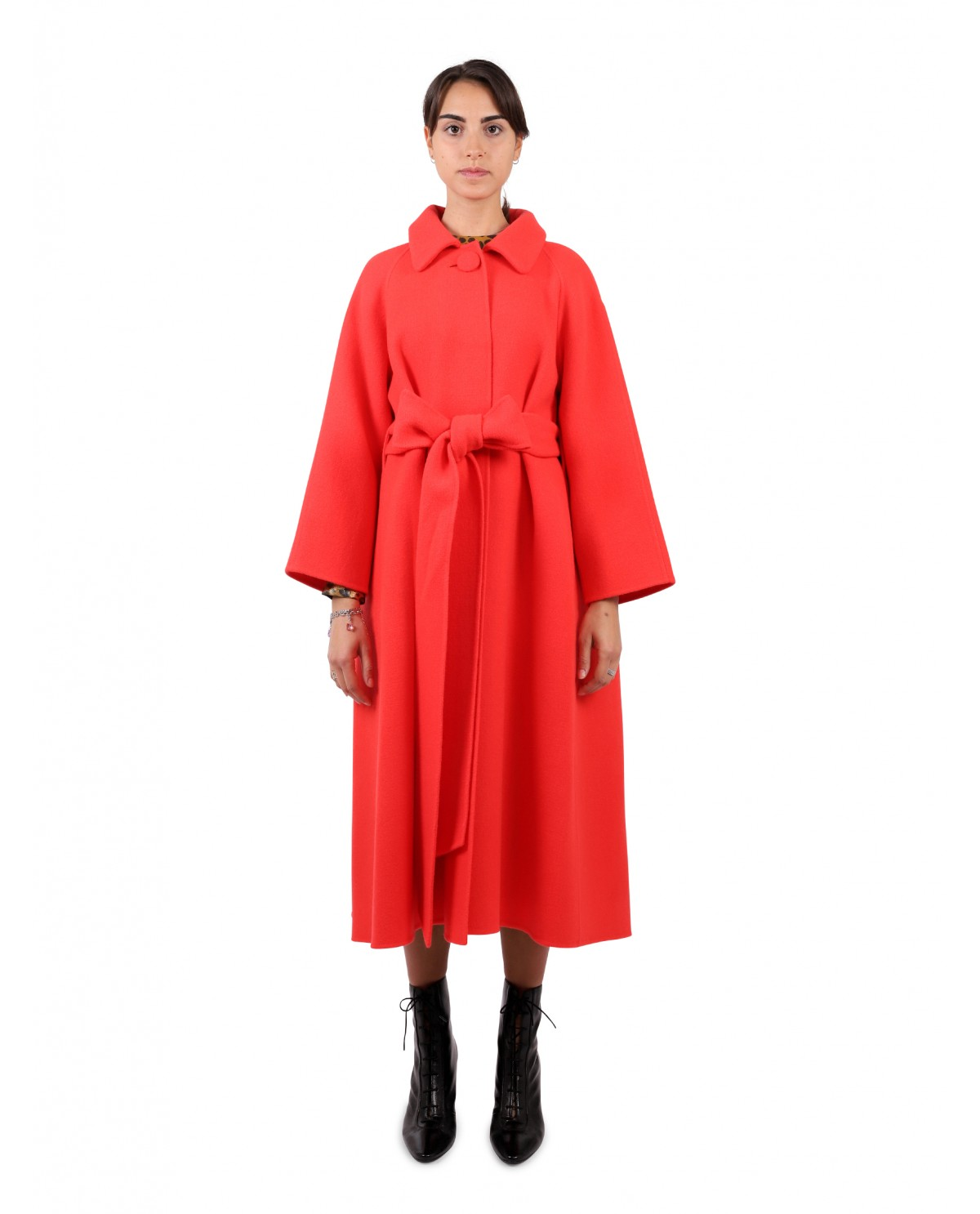 Marc Jacobs oversized red coat