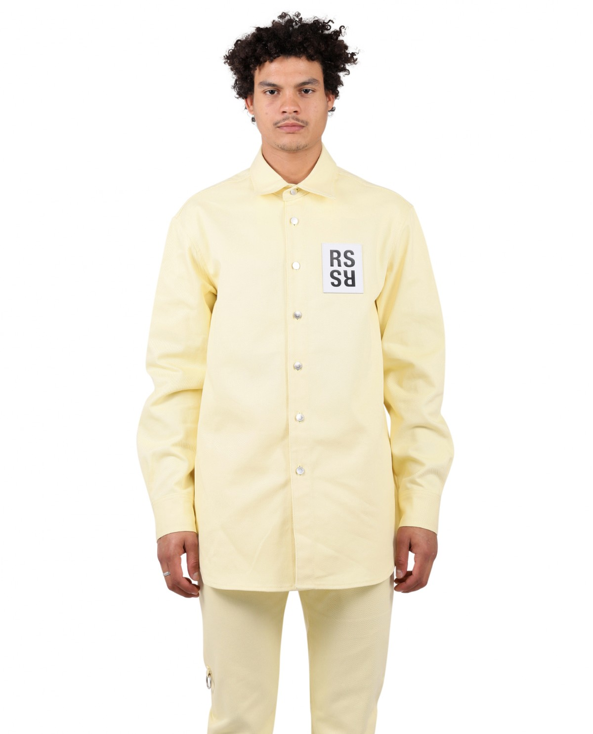 Raf Simons yellow shirt
