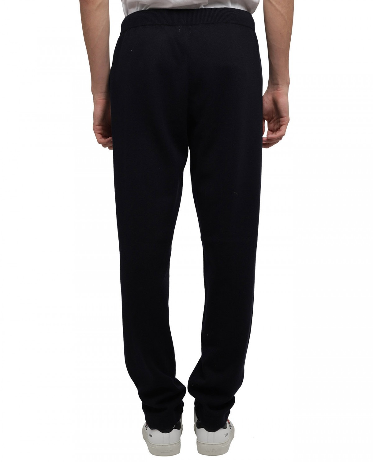 A.B.C.L. striped Coulisse trousers