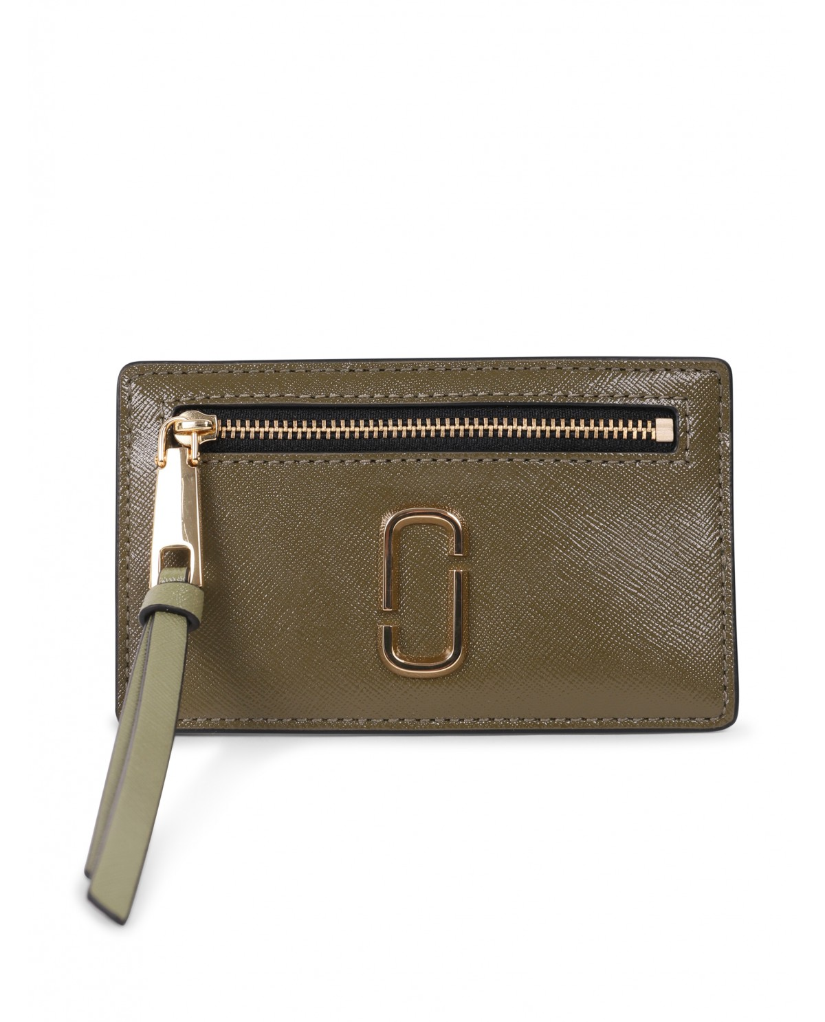 Marc Jacobs green Snapshot card holder