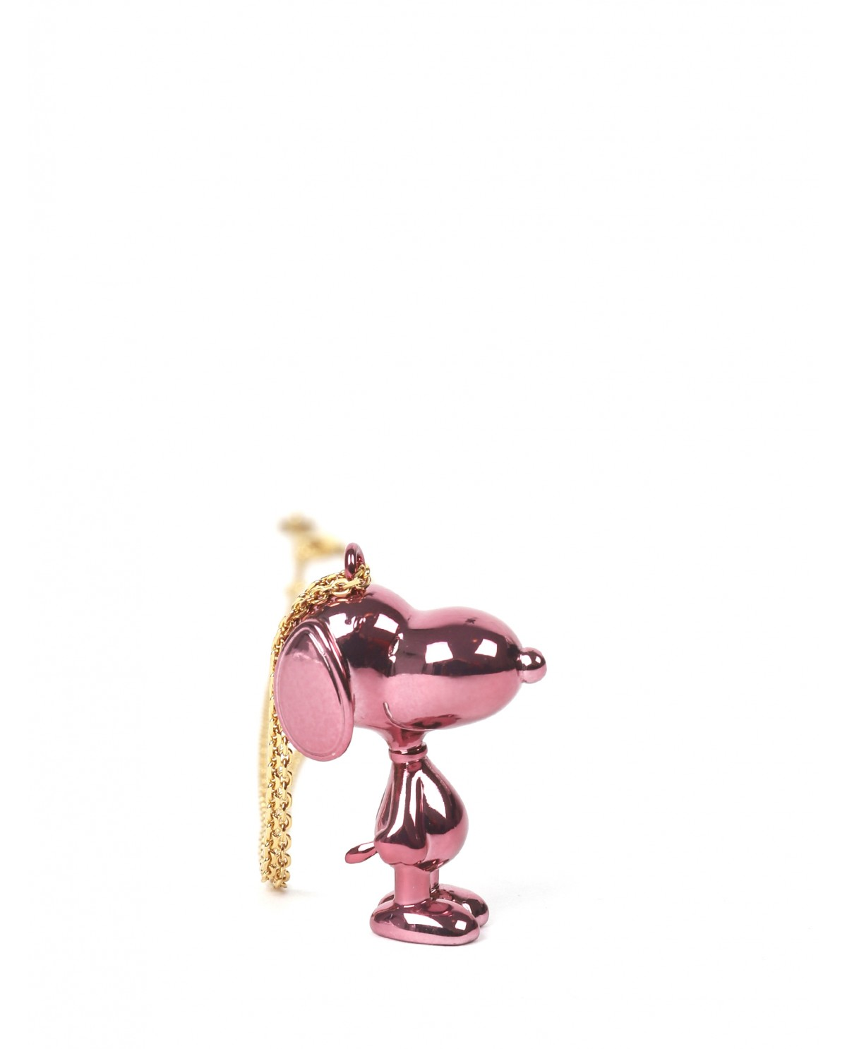 Marc Jacobs pink Peanuts Snoopy necklace