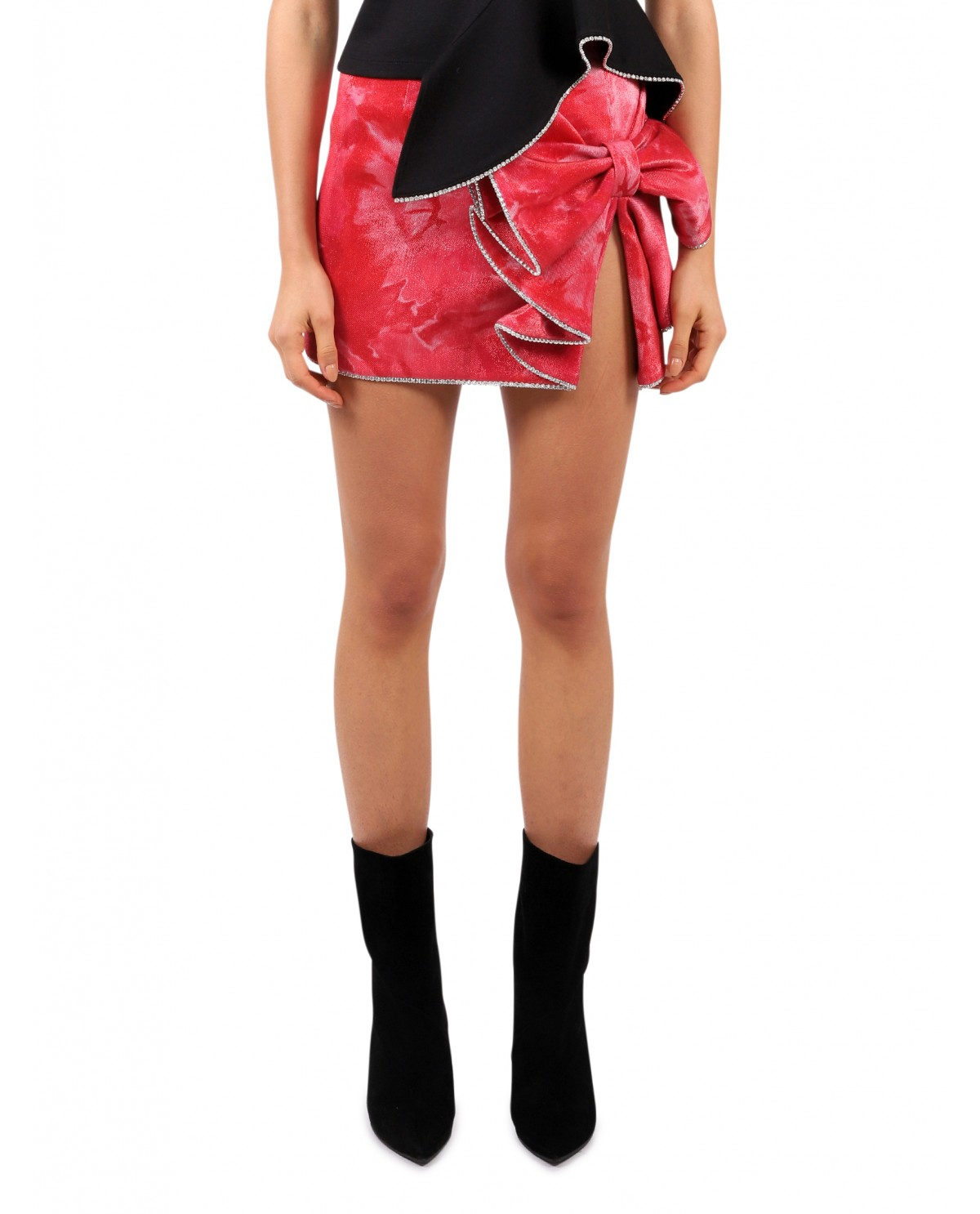 Area pink bow skirt