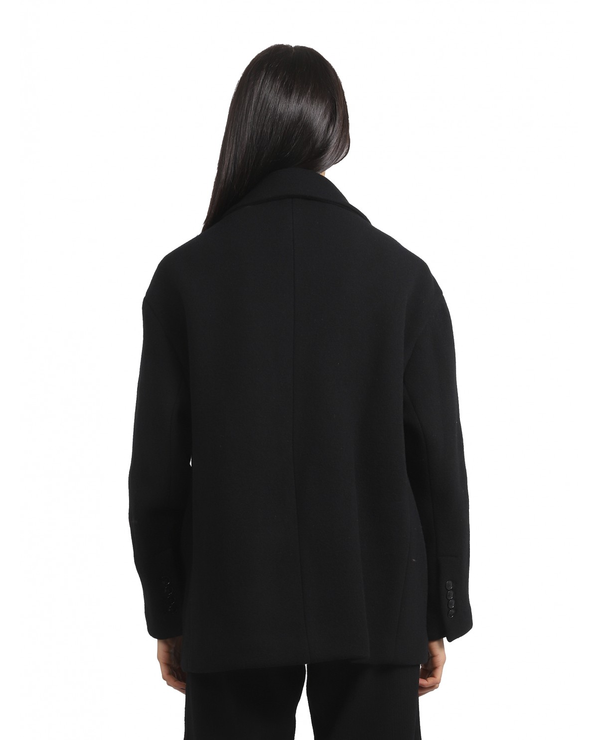 Ann Demeulemeester black dress<BR/>