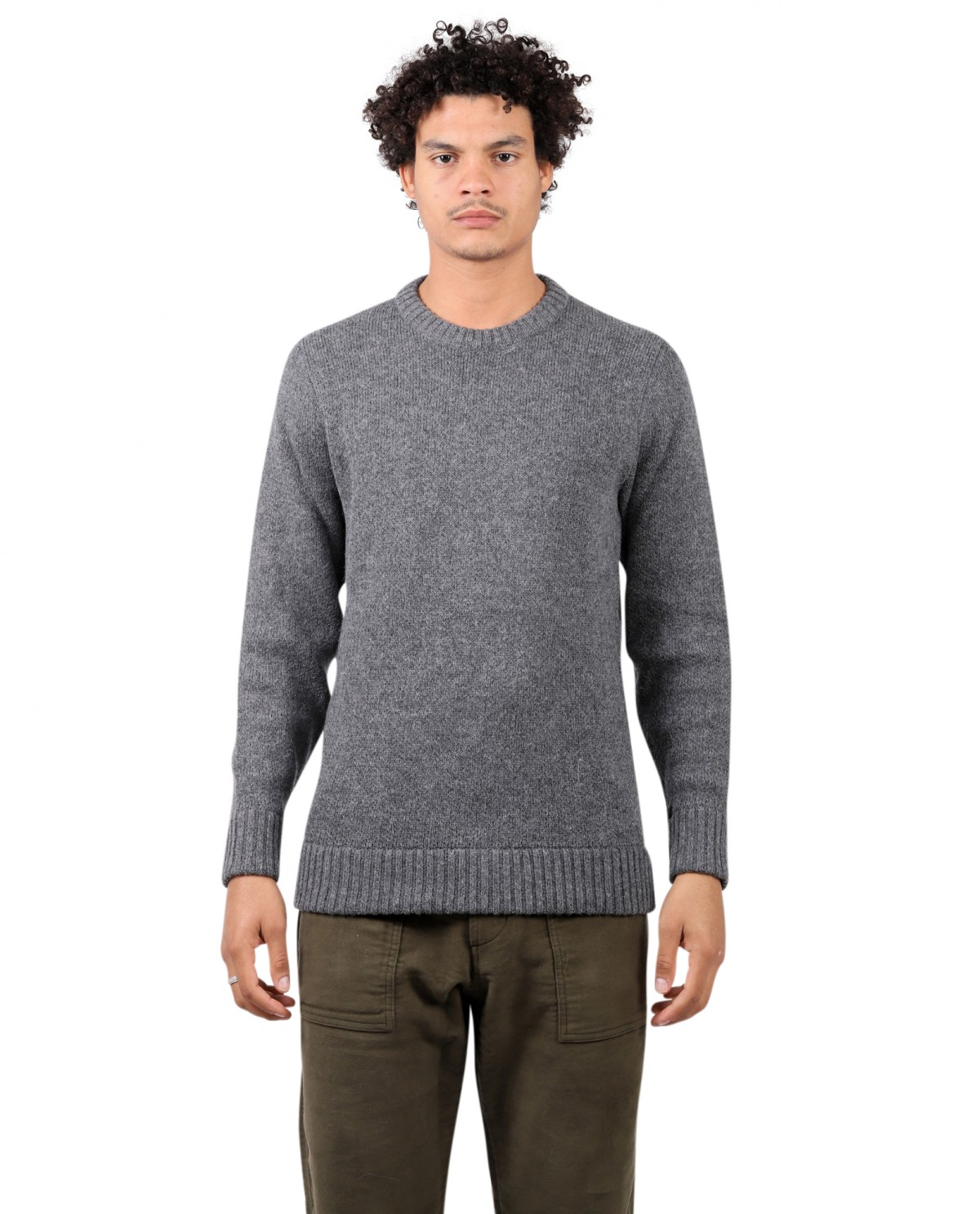 The Inoue Brothers grey logo sweater