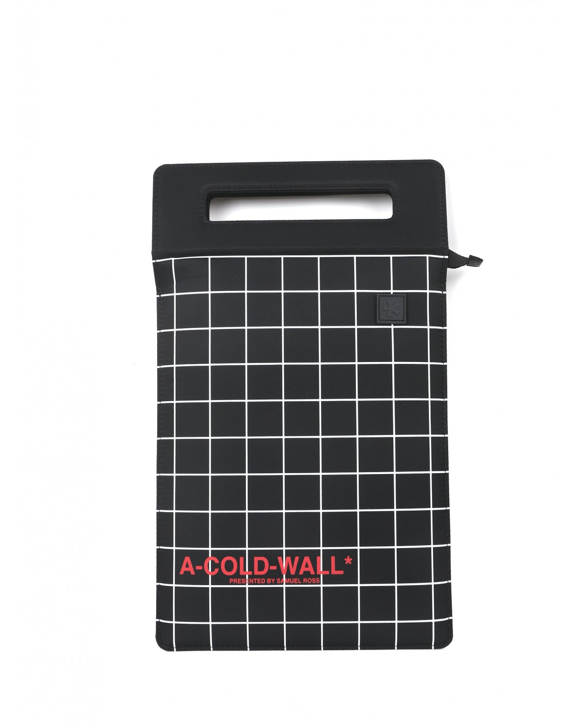 A Cold Wall black Overlocked Tablet...