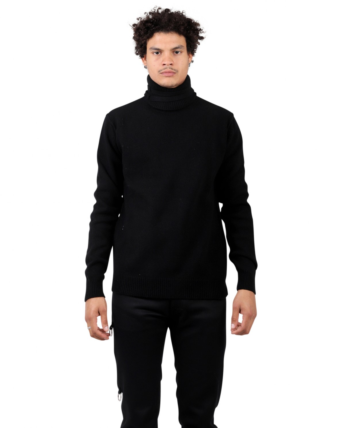 Raf Simons black sweater