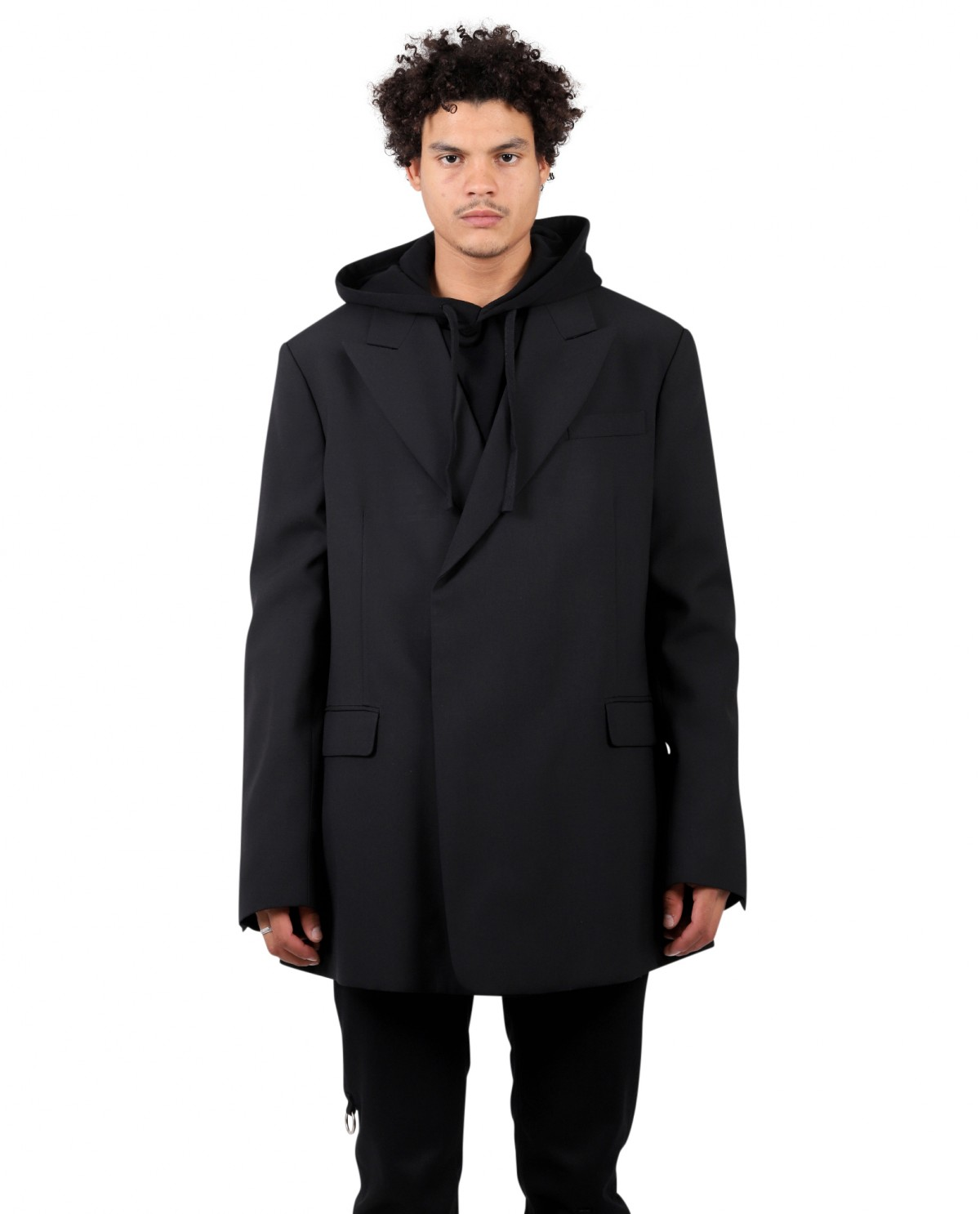 Raf Simons black fitted jacket