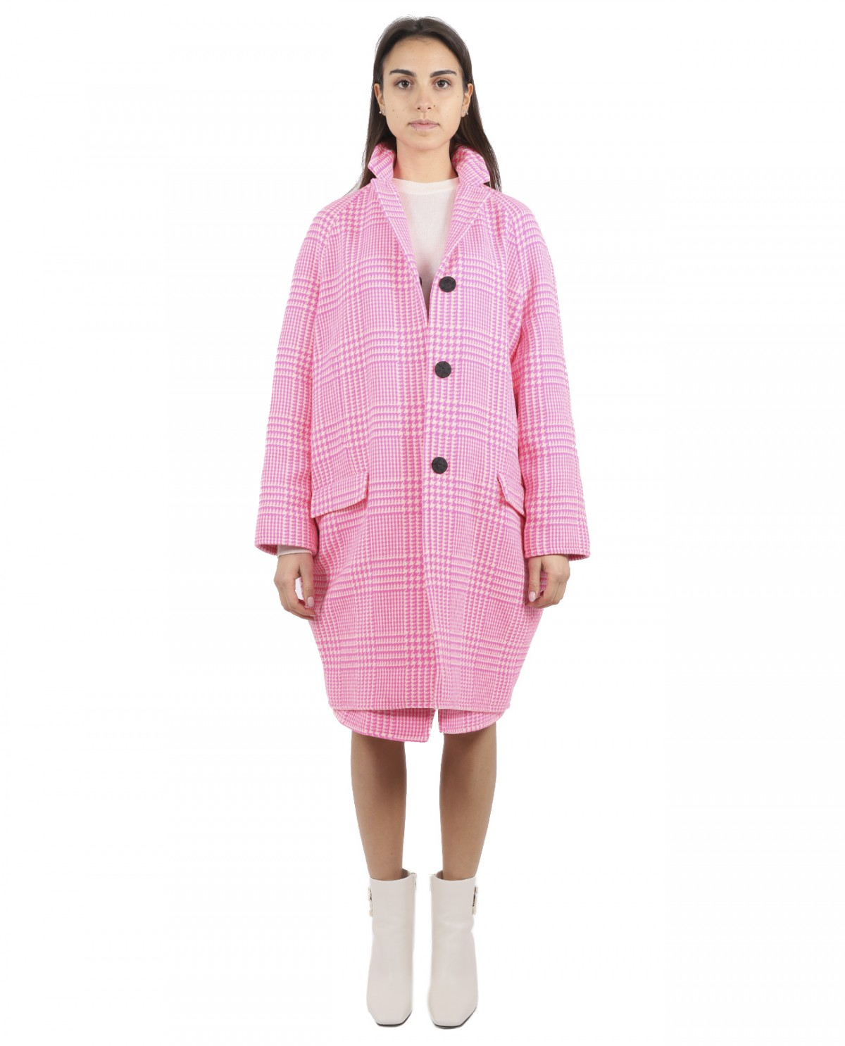 Gianluca Capannolo patterned Shelly coat